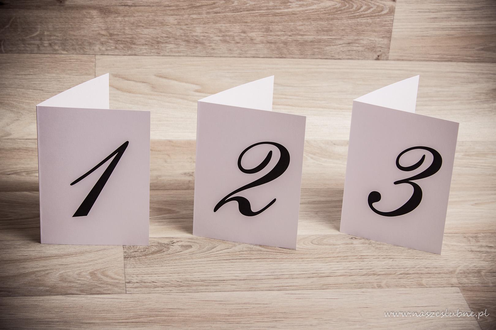 Numery na stoły